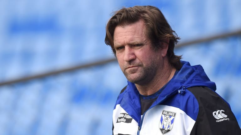 Money man: Des Hasler is a renowned big spender in his time with the Bulldogs.