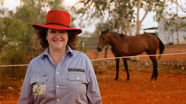 Gina Rinehart, worth $US14.9 billion, is the wealthiest Australian and the 85th richest person in the world, according to the most recent Bloomberg Billionaires Index.