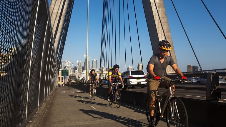 Cyclists have been fined more than $1.3 million since tougher penalties came into force in March.