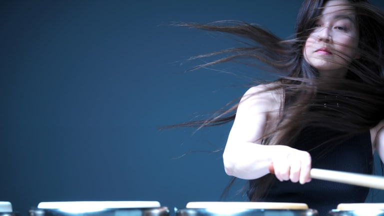 Kuniko Kato became a percussionist because her hands were too small for piano.