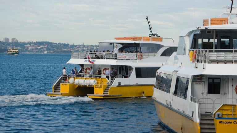 Fast ferry services from Sydney to Manly will be reduced from two service providers to one under new arrangements.