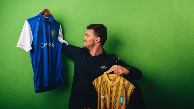 Mick Spencer, founder of Canberra sportswear company ONTHEGO, who have just secured the contract to kit out English team Sheffield Wednesday.