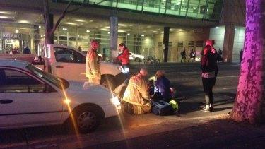 Woman hit by car on Harris Street in Ultimo during peak hour