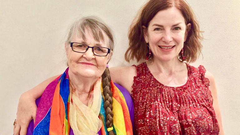Jenny Simm and Joanna Weinberg.