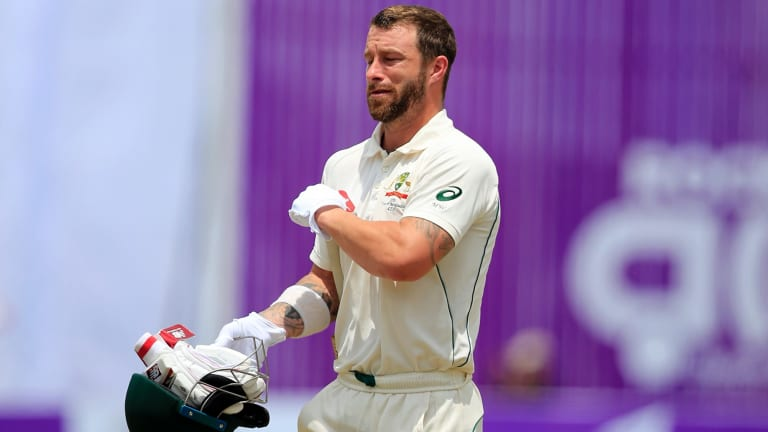 Matthew Wade has not enjoyed success in the first two rounds of the Sheffield Shield.