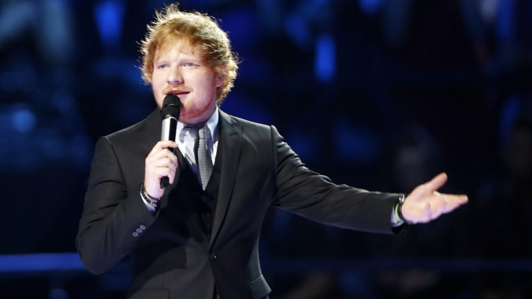 Ed Sheeran has been named the most-streamed artist of 2017 by Spotify.