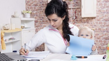 Many women have set up home businesses as a frustrated response to the setbacks they experienced as working mothers.