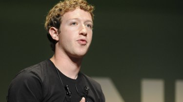 'We care about all people equally': Facebook's Mark Zuckerberg.