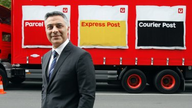 Outgoing Australia Post boss Ahmed Fahour.