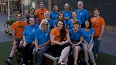 Grassroots campaigners: Environment Victoria and GetUp! volunteers are helping keep environmental issues on the election agenda.