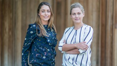 Mentorloop founders Heidi Holmes (left) and Lucy Lloyd started the mentoring platform in 2016.