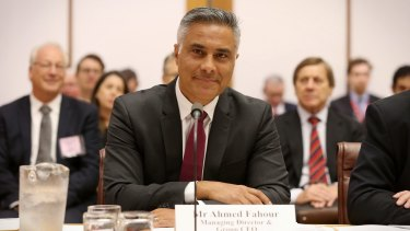 Fahour resigned in February due to public outrage of his $5.6 million package in the 2016 financial year.