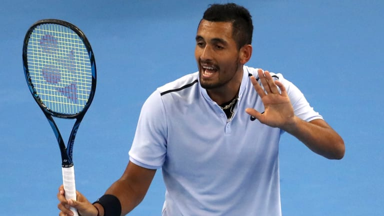Nick Kyrgios had another year of incredible highs and dismal lows.