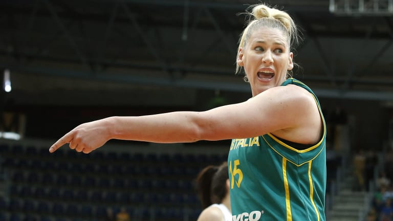 Fingers crossed: Lauren Jackson is still hopeful of playing in another Olympics in Rio.