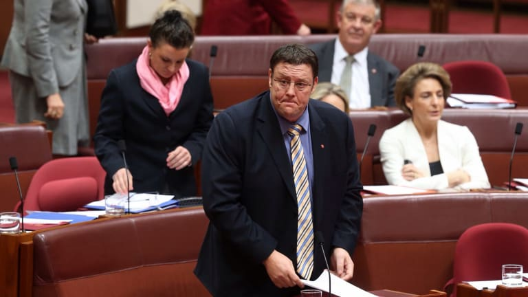 Senator Glenn Lazarus quit the Palmer United Party earlier this year.