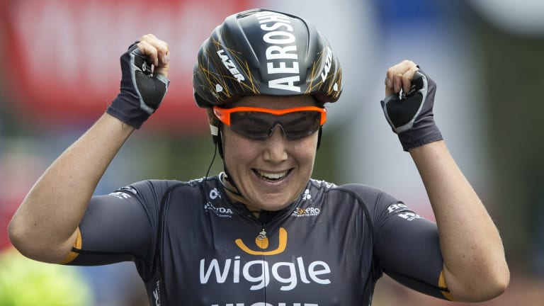 "Canberra's Chloe Hosking is being tipped as a ""dark horse"" for the road race title."