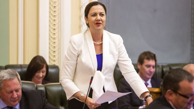 """The Polish Princess"": Queensland's Opposition Leader Annastacia Palaszczuk."