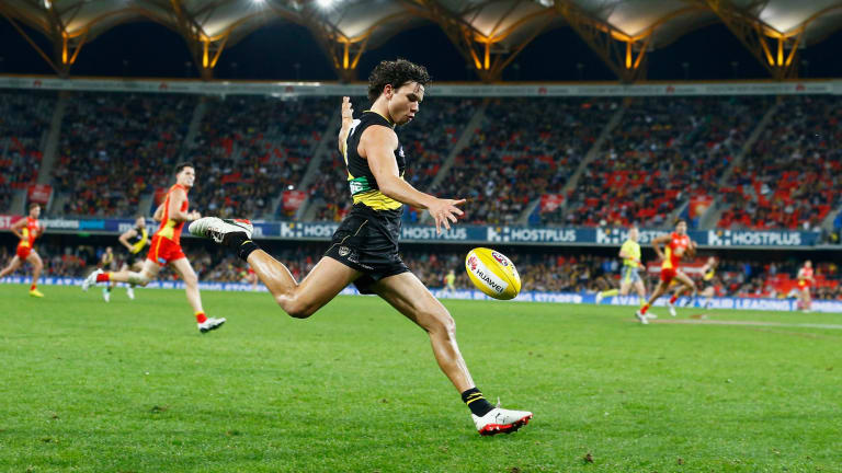 It was worth going to the game just to witness Daniel Rioli's poise.
