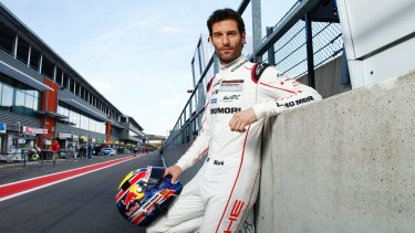 Not a fan of touring cars: Mark Webber will drive demonstration laps for Porsche at the Bathurst 12 Hour and Australian Grand Prix.