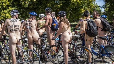 Melbourne has taken part in the World Naked Bike Ride for about a decade.