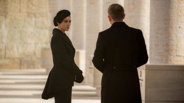 Monica Bellucci and Daniel Craig in <i>Spectre</i>.