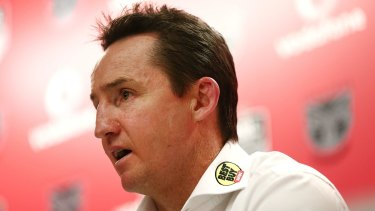 Resurgence: Jason Taylor had been under siege and was tipped by many to be the first NRL coach sacked this year.