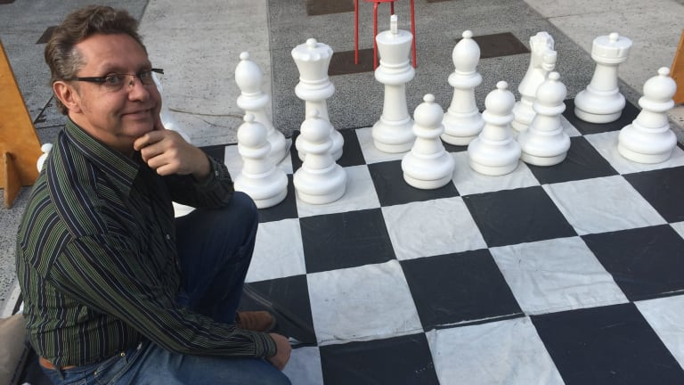 Andrew Ivamy tries his hand at the Brisbane Ultimate Chess Battle