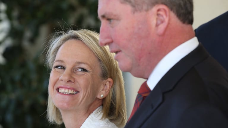Nationals leaders Fiona Nash and Barnaby Joyce are leading the forced moves out of Canberra.