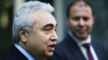 IEA's Dr Fatih Birol is concerned that under-investment in oil supply is threatening security of supply.