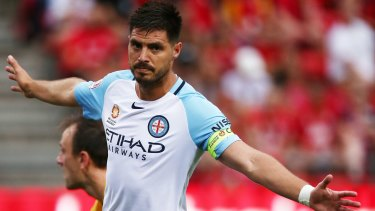 More of the same: Bruno Fornaroli scored from the penalty spot when City last played the Mariners in December.