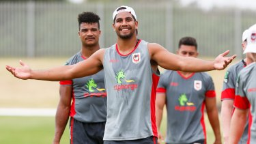 Transition: Nene Macdonald is happy to swap the Titans for the Dragons.