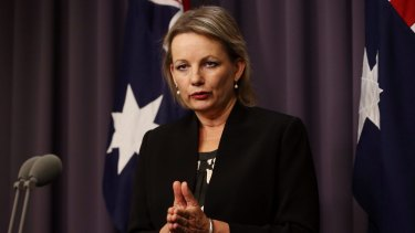 Health Minister Sussan Ley has left open the option of cutting rebates for natural health therapies.