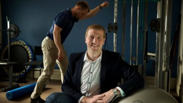 Jason Pilgrim runs multiple businesses including a physiotherapy practice called In2Motion in Richmond.