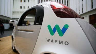 Google's Waymo driverless car. The big car manufacturers and tech giants are in a worldwide race to offer the market a seamless, door-to-door, transport-as-a-service solution.