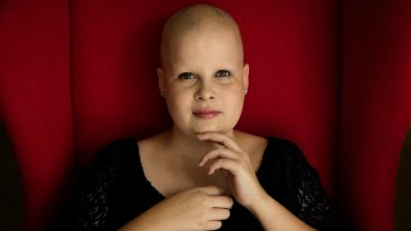 Sophie Martyr, 20, was diagnosed with brain cancer when she was just 13. She is now in remission.