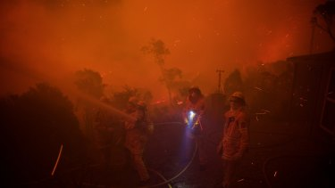 Experts say bushfire will also become more common if climate change continues unabated.