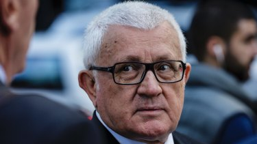 Ron Medich has pleaded not guilty to the murder of businessman Michael McGurk.