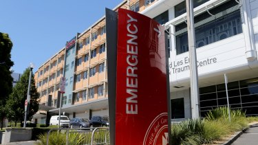 At least 12 patients presented at The Alfred on Saturday morning after taking the same drug.