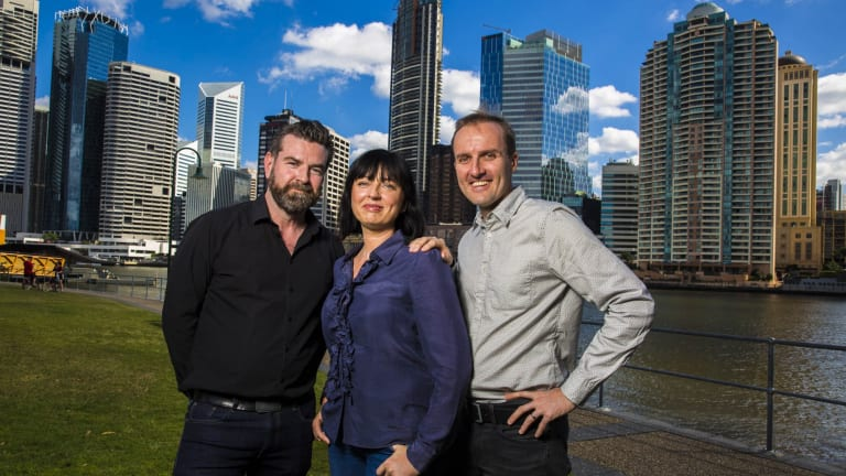 Nathan Mayfield, Tracey Robertson and Leigh McGarth from Hoodlum Entertainment will create the first Netflix Original to be shot in Australia.
