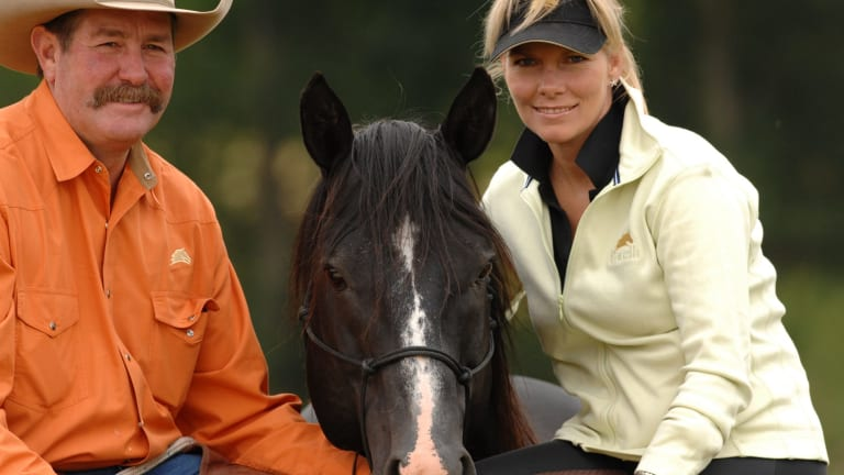World-renowned horse whisperers Pat and Linda Parelli are about to start a tour of Australia.