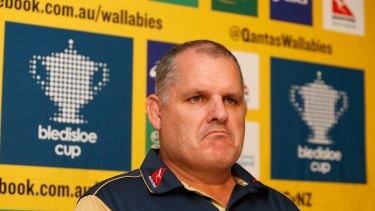Pressure is mounting on Wallabies coach Ewen McKenzie.