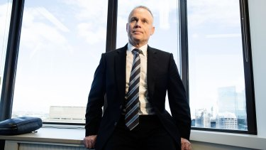 NIB chief executive Mark Fitzgibbon. The ACCC has launched action against insurer NIB over alleged deceptive conduct.