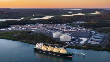 The Queensland LNG project Gladstone