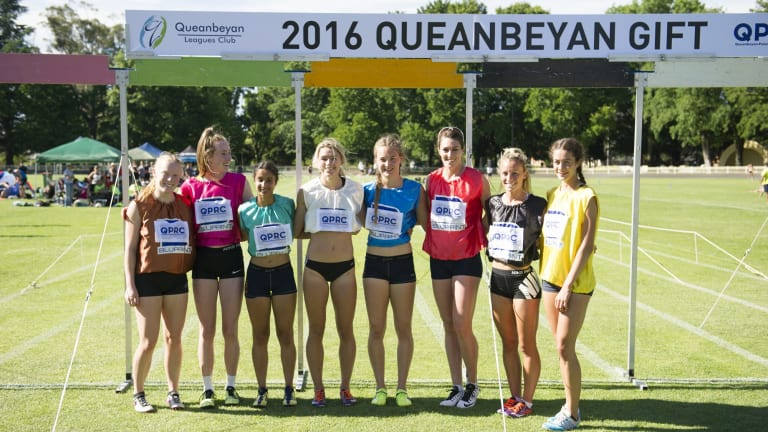 There are just 12 entrants in the women's Queanbeyan Gift this year.