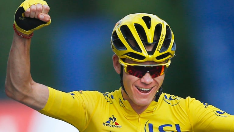 Chris Froome to race at next week's Ruta del Sol in Andalucia.