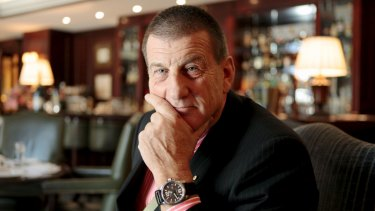 Speaking out: Jeff Kennett addresses issue of gambling among AFL players.