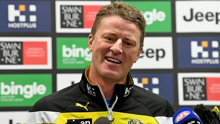 Damien Hardwick says Richmond no longer have to rely on their big names.