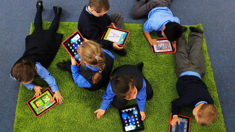 The study suggests schools should incorporate video games into their teaching techniques.