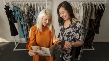 Katie Pratt and Amy Li are targeting China's emerging middle-class with the country making up 20 per cent of  Elliatt's business.
