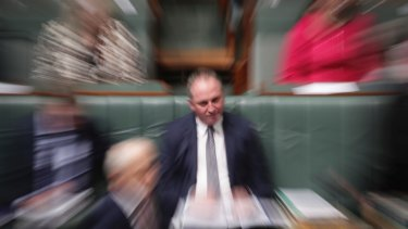 Deputy Prime Minister Barnaby Joyce survives another day.